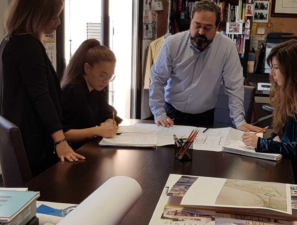 arquitectos para proyecto de vivienda unifamiliar