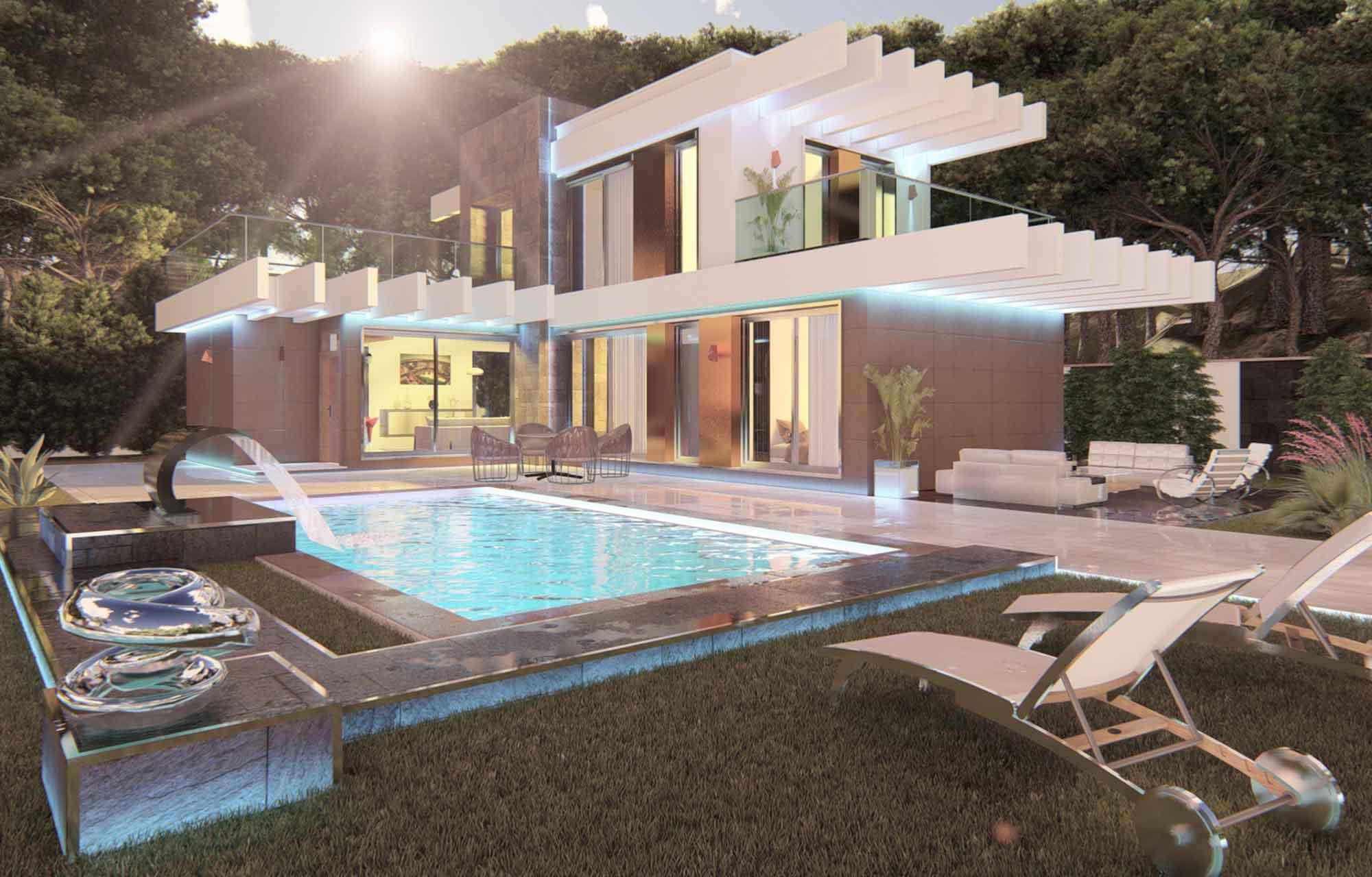 proyecto arquitectura vivienda unifamiliar